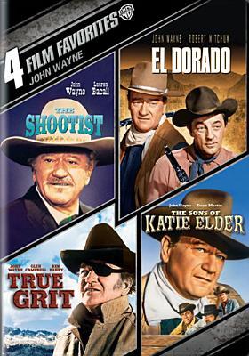 4 FILM FAVORITES:JOHN WAYNE BY WAYNE,JOHN (DVD)